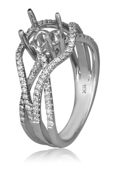 Build the Ideal Engagement Ring - Start with a Diamond