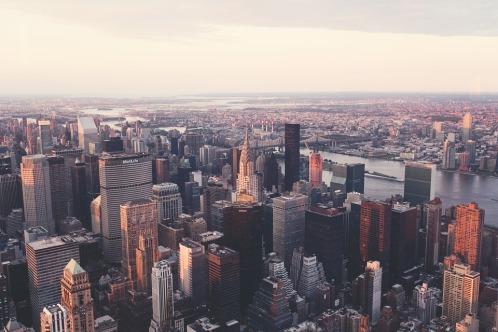 Nyc Manhattan Skyline Chrysler Building New York