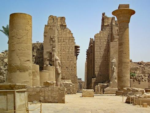 Karnak Weltwunder Temple Egypt Antiquity